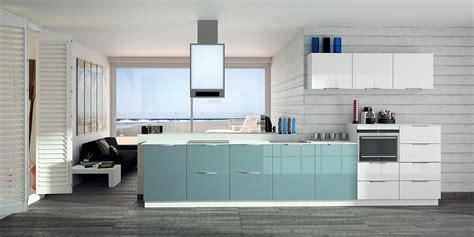 cuisine turquoise et gris cuisine mur bleu turquoise