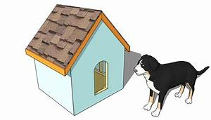 large dog house plans myoutdoorplans free woodworking With simple dog house