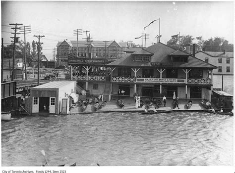 Boat Lettering Toronto by Vintage Restaurant Photographs From The Toronto Archives