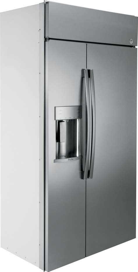 psbyskss ge profile  built  side  side refrigerator stainless steel