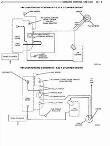 Engine Vacuum Diagram