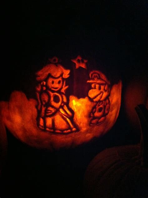 pumpkin carving mario 24 best images about pumpkins on pinterest pumpkins spock and aliens