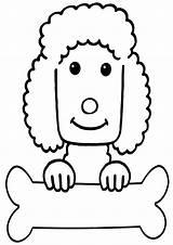 Poodle Coloring Pages Poodle2 sketch template