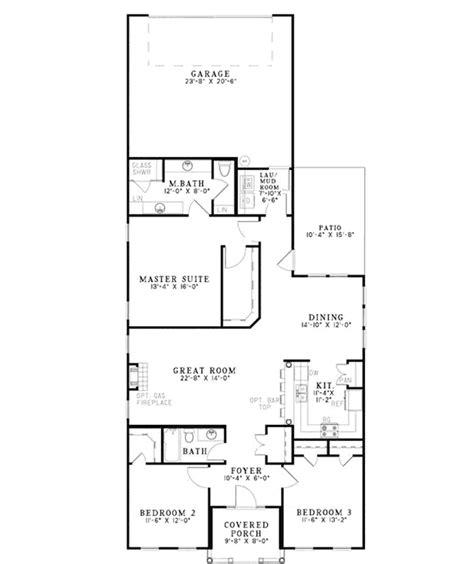 renaldo narrow lot home plan house plans