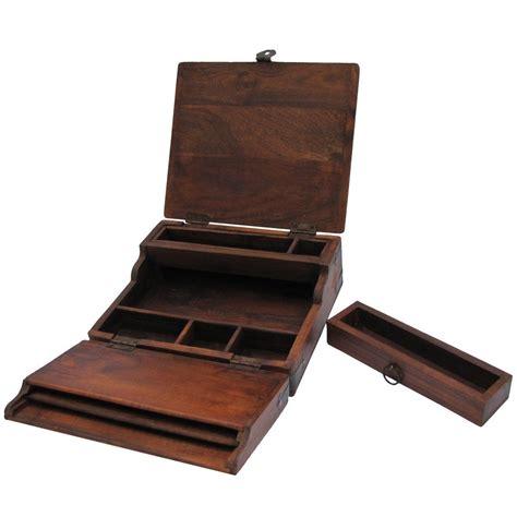 amazoncom antique style wood folding travel writing lap