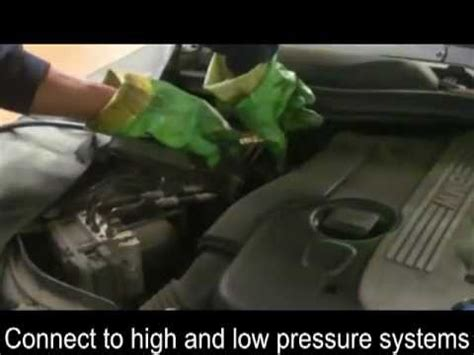 bmw air conditioning recharge youtube