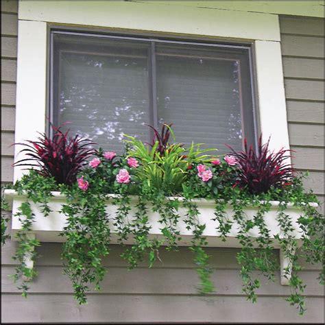 Outdoor Window Sill Plants by Best 25 Artificial Outdoor Plants Ideas On