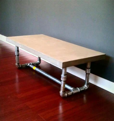 concrete coffee table diy diy concrete project ideas remodelaholic