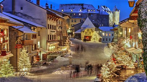 la celebracion de la navidad en suiza
