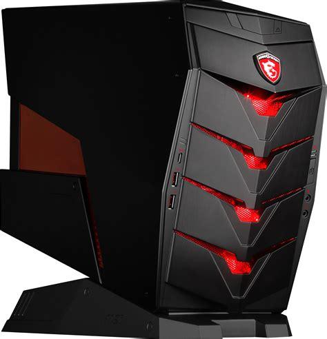 ordinateur de bureau meilleur rapport qualité prix msi aegis l 39 ordinateur de bureau taillé pour le gaming