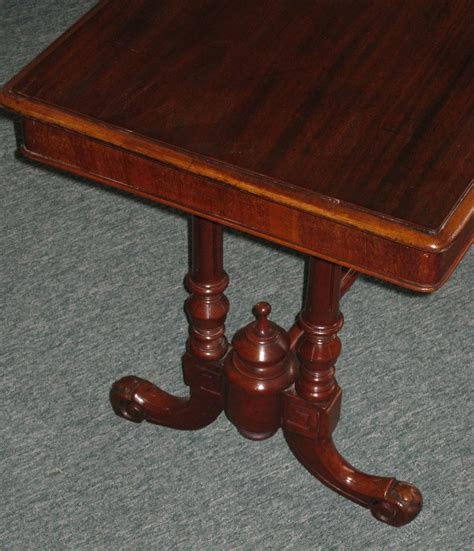 Victorian Golden And Solid Mahogany Coffee Table