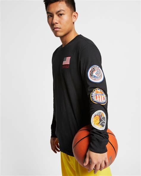 nike pg  nasa shirts sneakerfitscom