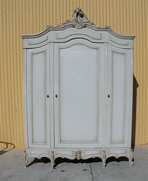 antique furniture french antique painted louis xv armoire