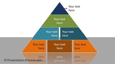 Powerpoint Segmented Pyramid Diagram Series