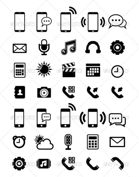 Mobile Phone Icon For Resume by Symbol For Mobile Phone And Email 187 Dondrup