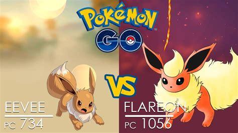 pok 233 mon go battle eevee vs flareon with blast