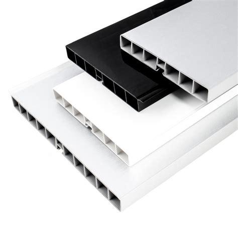 plinthe cuisine alu plinthe pvc pour cuisine 100mm 150mm 1 5m noir aluminium