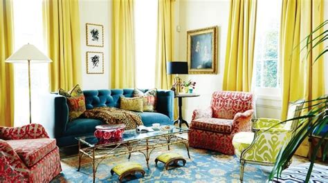 20 Charming Blue And Yellow Living Room Design Ideas Doorway Curtains Ideas Pottery Barn Madras Draping Country Discount 60 Wide Curtain Panels Extra Long And Primative Shower Bulk Rods