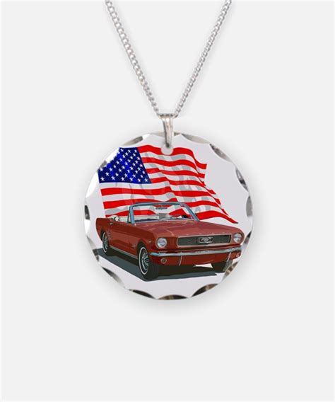 ford mustang necklace ford mustang necklaces ford mustang tags necklace