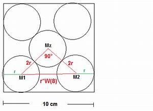 Mittelpunkt Einer Strecke Berechnen : kreis in ein quadrat der seitenl nge a 10cm sind f nf ~ Themetempest.com Abrechnung