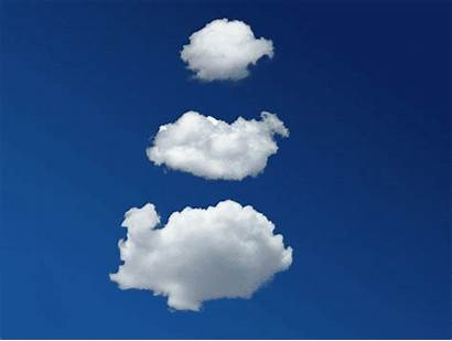 Clouds Sky Gifs Cloud Animated Moving Giphy