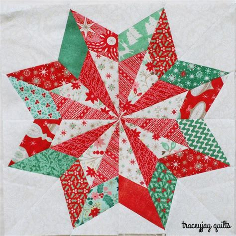 quilted tree skirt 8 free paper pieced quilt block patterns