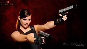 Girls With Guns Wallpaper - WallpaperSafari