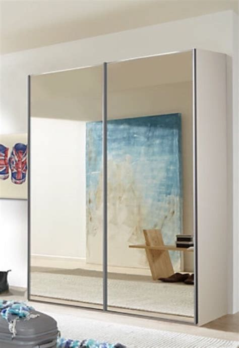 Mirrored Wardrobes For Sale by Wardrobe With Mirrored Sliding Doors United