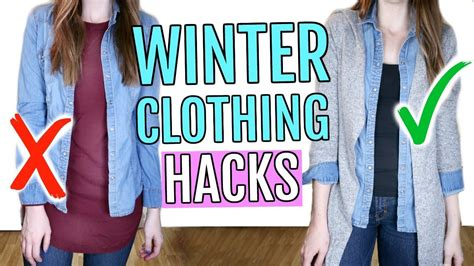 Winter Clothing Hacks You Need To Know Youtube