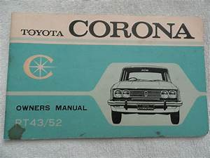 Toyota Corona Rt43    52 Owners Manual