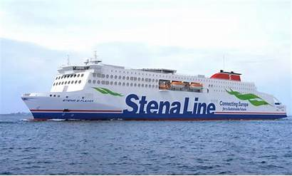 Stena Lines Line Klart Halmstad Flytt Till