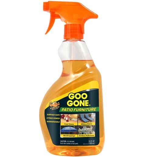 goo outdoor furniture cleaner