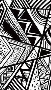 Black And White Doodle #iPhone #5s #Wallpaper | http://www ...