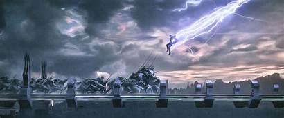 Thor 4k Thunder God Wallpapers Ragnarok Artwork