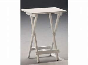 Table D Appoint Blanche : table d 39 appoint pliante conforama ~ Teatrodelosmanantiales.com Idées de Décoration