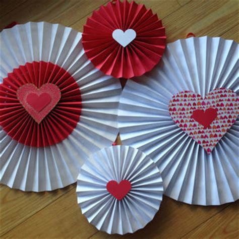 how to hang paper fans on wall valentines fan paper fan pinwheels wall from ciciboudecor on