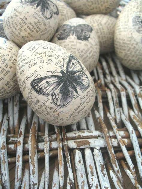 idee de deco pour paques d 233 coration vintage pour les œufs de p 226 ques id 233 es faciles easter egg decorating and bricolage