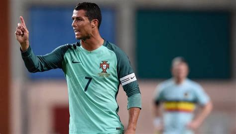 Fernando Santos says Cristiano Ronaldo is not Portugal's ...