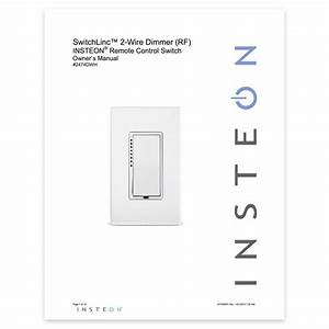 Dimmer Switch  2-wire