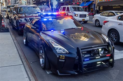 Cop Cars by This Nissan Gt R Looks Like The Evil Cop Car From