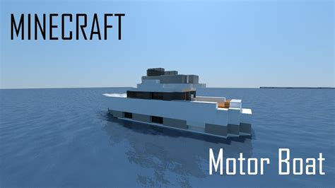 Maycraft Boat Motor by Minecraft Motor Boat Interior