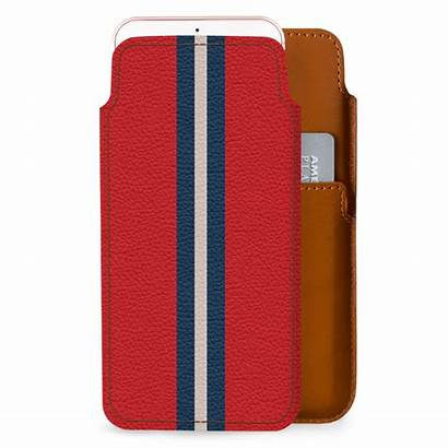 Case Leather Iphone Stripe Dailyobjects Wallet Race