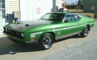 1972 Ford Mustang Mach 1 Green
