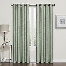 bed bath and beyond blackout drapes darcy 100 blackout grommet top window curtain panel bed