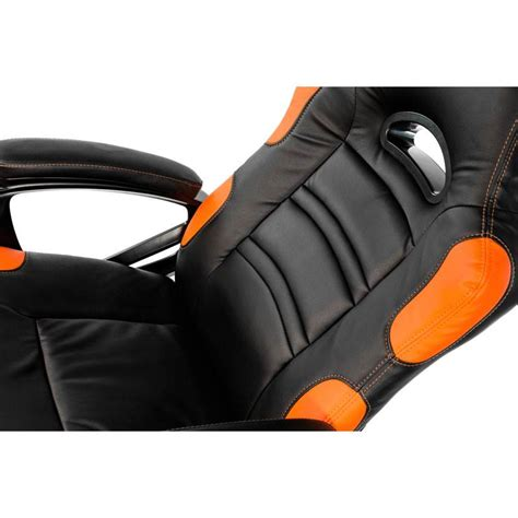 arozzi enzo gaming chair black orange enzo or mwave