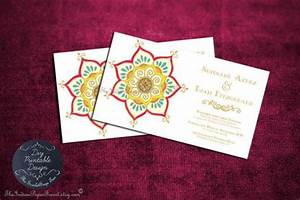 printable indian wedding invitation template pdf lotus With inexpensive indian wedding invitations