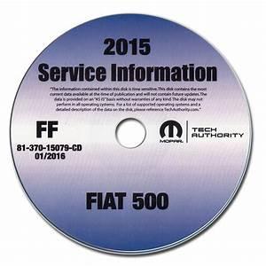 2015 Fiat 500l Repair Shop Manual Cd