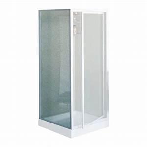 Paroi Douche Verre Sablé : paroi douche fixe verre transparent riviera f r glable ~ Premium-room.com Idées de Décoration