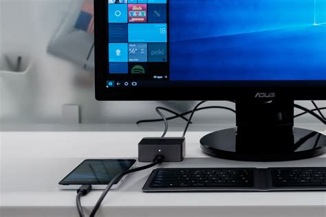 windows help desk phone microsoft is about to turn a phone into a real pc the verge