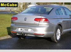 VW Passat B8 Saloon 2015 Jan onwards Towbar McCabe The